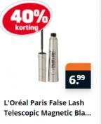 Diverse L'Oréal Mascara en Make-up met 40% korting