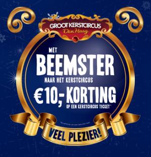 Tickets voor wintercircus Den Haag met €10 korting