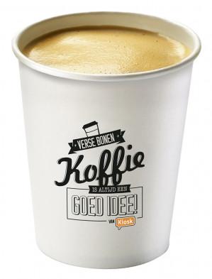 Kortingsbon voor Gratis koffie of thee bij KIOSK