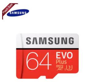 Samsung Evo+ 64 GB Micro SD class 10 voor €19,46