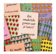 Diverse Broodtrommelliefde kaartjes voor €6,95