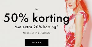Karen Millen sale 20% extra korting op de sale van 50%