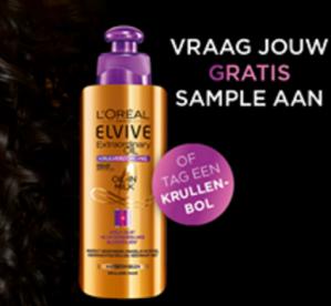 Elvive Krulverzorging Oil-in-Milk gratis sample