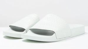 adidas Originals ADILETTE - Slippers - linen green voor €23,95