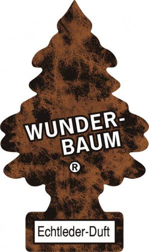 24 Wunder-Baum Geurkaart Echtleder  voor €7,50