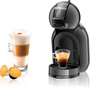 Koffiecupmachine Dolce Gusto Mini Me Auto Black/Grey KP120810 voor €55,90