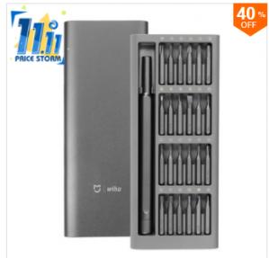 XIAOMI Wiha 25 in 1 Multi-purpose Precision Screwdriverr Set Aluminium voor €18,84 dmv code
