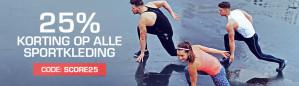 Kortingscode Bodyenfitshop voor 25% korting op alle sportkleding