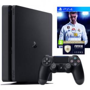 Sony PlayStation 4 Slim 1 TB FIFA 18 Bundel voor €266,77