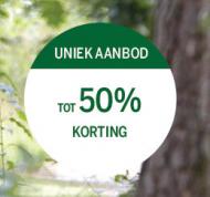 Boek bij Center parcs tot 50% korting
