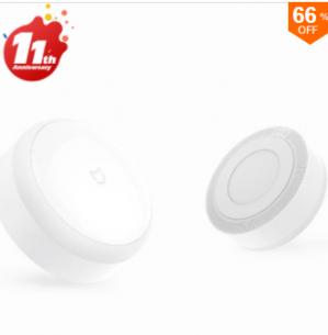 Original Xiaomi LED sensor (nacht)lamp voor €4,97