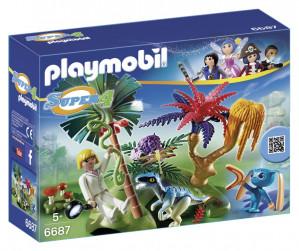 Playmobil® 6687 Lost Island with Alien and Raptor voor €4,99