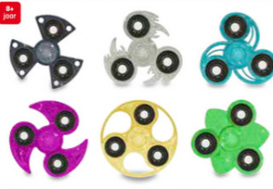 Diverse coole Spinners voor €0,49