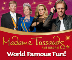 Entree tickets Madame Tussauds voor €6,75 d.m.v. code
