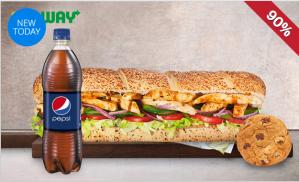 Subway Premium menu voor €1 in Hoorn en Purmerend