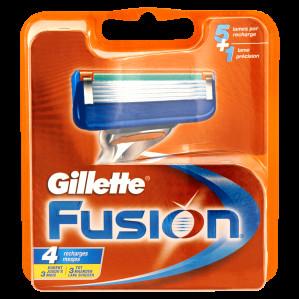 Gillette Fusion Scheermesjes 4 st voor €8,48