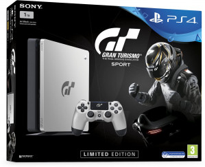 Console PS4 SLIM - 1 TB - GT SPORT LIMITED EDITION voor €299