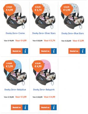 Dooky Zero+ vanaf €3,99 + €2,50 verzendkosten