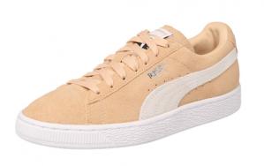Puma heren sneakers in nude suède €23,90