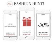 Fashion Hunt bij Maison Lab elke dag 10 artikelen met 90% korting