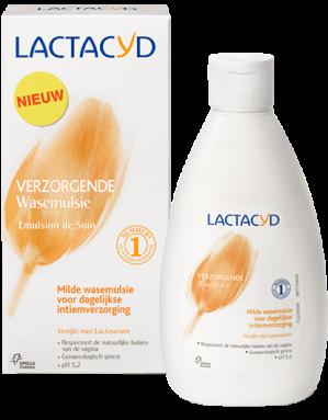Gratis Lactacyd Verzorgende Wasemulsie sample aanvragen