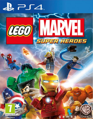 LEGO Marvel Super Heroes - PS4 voor €13,75