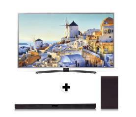 LG 55UH668V Smart Tv + LG SH4 Soundbar set voor €979 voor Clubleden