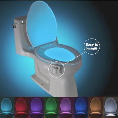 WC-lamp voor op de toilet voor €0,95 dmv code