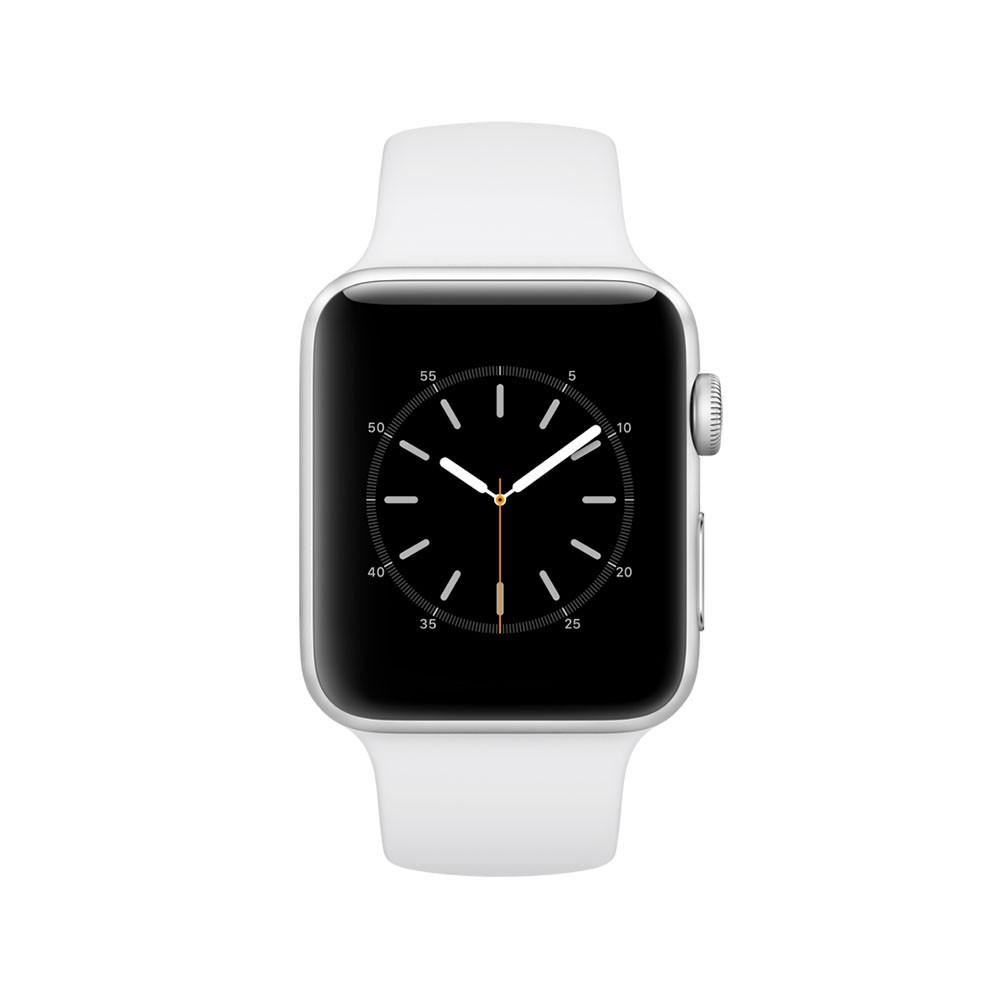 Apple Watch Series 2 - 42mm Zilver Aluminium Case met Wit Sport Band voor €349