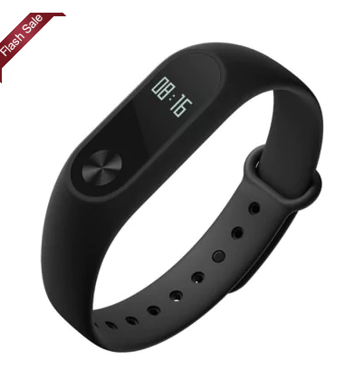 Original Xiaomi Mi Band 2 Smart Watch for Android iOS voor €10 d.m.v. code