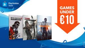 Diverse games onder €10