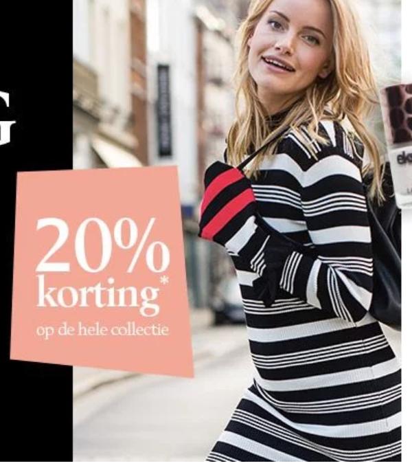 20% korting tijdens de Shopping night