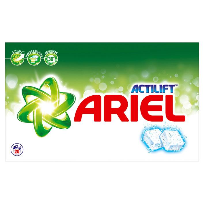 Wasmiddeltabletten Regular 168 tabs Ariel Actilift Tabs voor €23,50