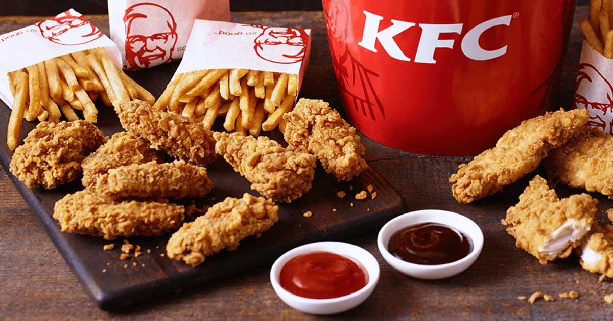 Diverse KFC Coupons geldig tot en met zondag de 15de