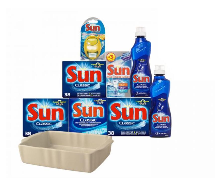 Sun box voor €19,95 dmv code