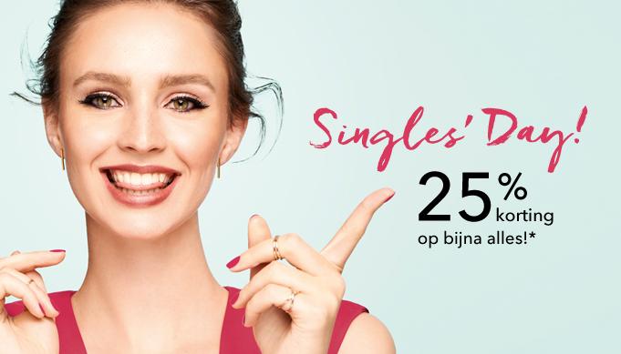 Douglas singles day 25% korting op bijna alles