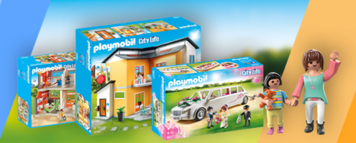 Playmobil artikelen met 20% koting