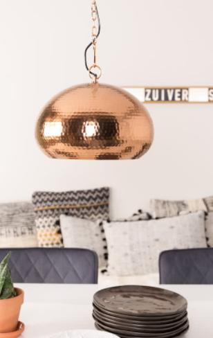 Zuiver Hammered Oval Hanglamp voor €49,99