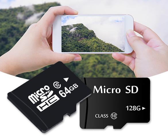 Diverse soorten Micro SD-kaarten in de aanbieding bij de Telegraaf