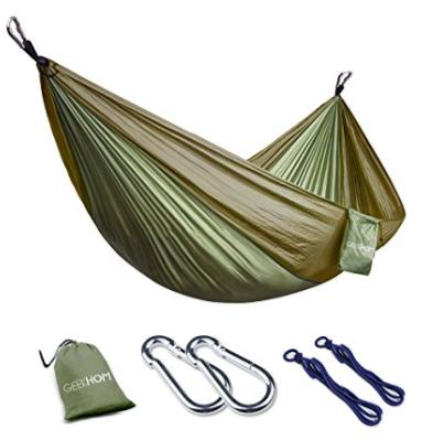 Hangmat Voor 2 Personen.Geekhom Camping Hangmat Voor 2 Personen Voor 15 99