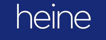 Kortingscode Heine-shop voor 20% korting op alles
