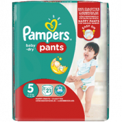 Pampers Baby Dry Pants, Premium Protect of Active Fit voor €5,99