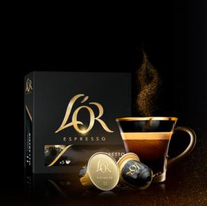 Vraag een Gratis L'OR koffie capsule aan