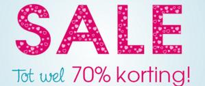 Sale bij Pinkorblue met kortingen tot 70%