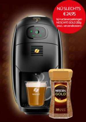 Nescafé Gold Barista voor €24,95