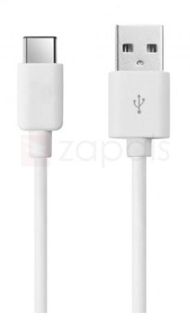 1m USB Type-C kabel wit voor €0,27 dmv code