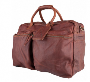 Cowboysbag THE BIG BAG | COGNAC weekendtas voor €99,97