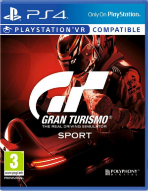 GT Sport and Limited GT Sport DualShock PS4 voor €83
