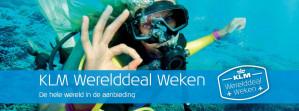 Wererelddeal Weken KLM met hoge kortingen