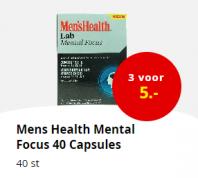 Diverse Men's Health Lab artikelen 3 voor €5